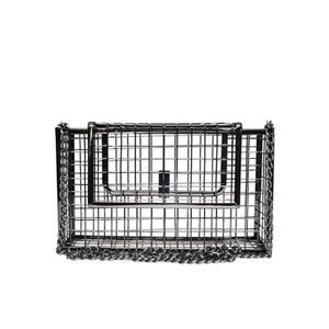 Caged Chain Metal Clutch